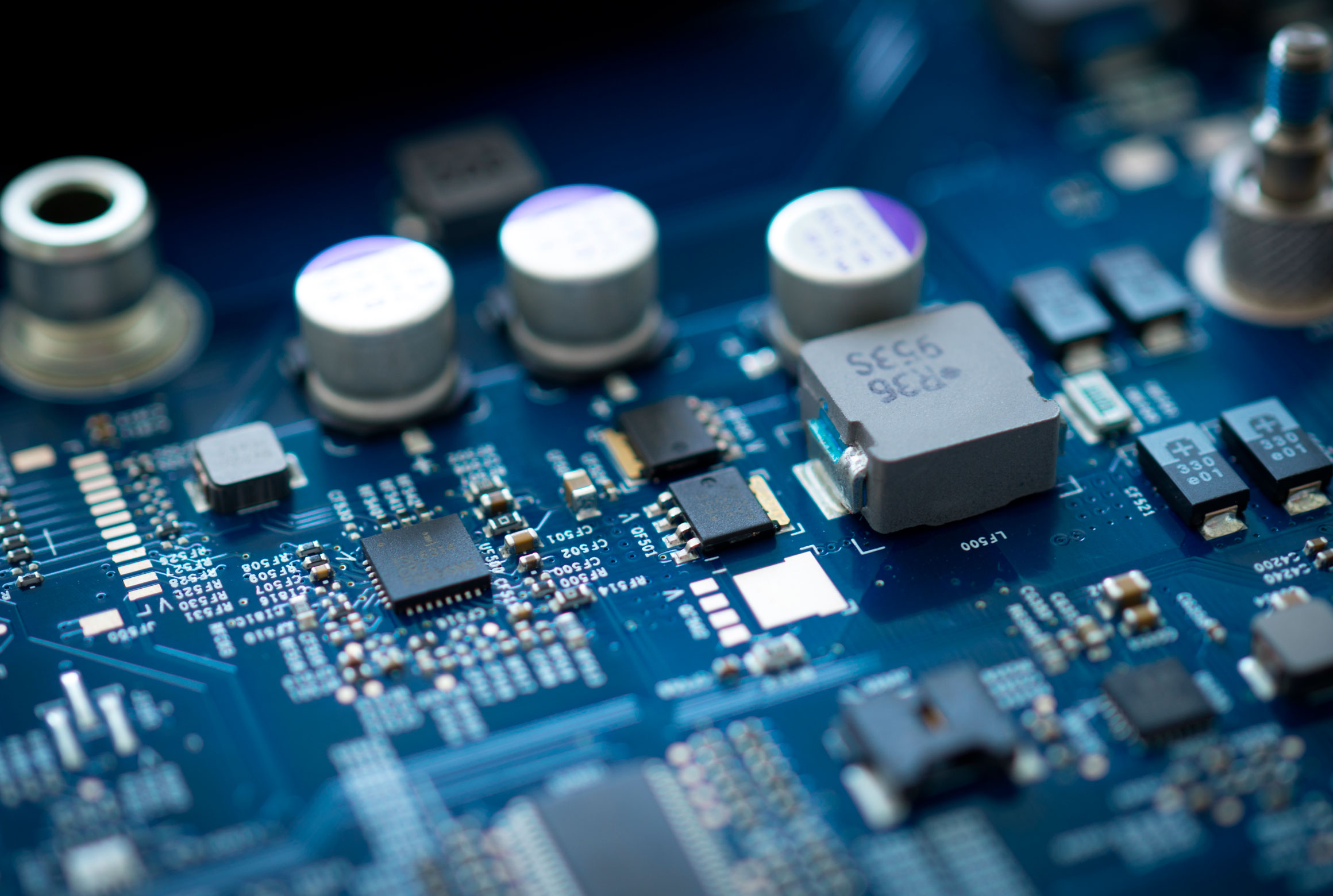 Pcb Embedded Design And Fpga Electronics Development Service Electronic Circuitboard With Components Soldered In Place Hardware